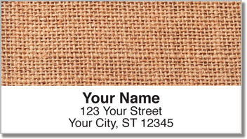 Jute Rug Address Labels