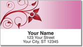 Swirling Vine Address Labels