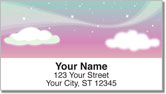 Starry Sky Address Labels