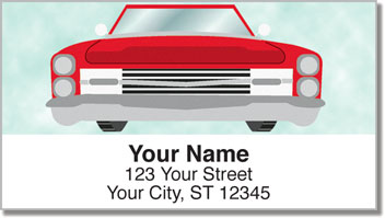 Car Grille Address Labels