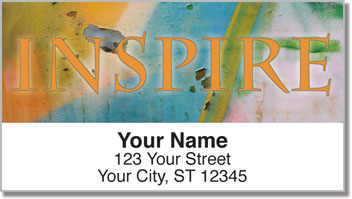 Artistic Inspiration Address Labels