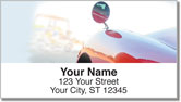 Red Ride Address Labels