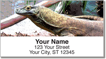 Reptile Address Labels