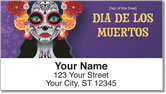 Day of the Dead Address Labels