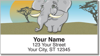 Jungle Buddy Address Labels