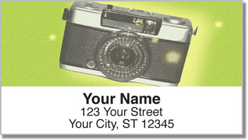 Cool Camera Address Labels