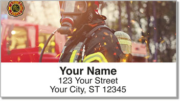 Fire Department Address Labels