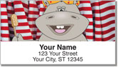 Happy Hippo Address Labels