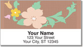 In Full Bloom Address Labels