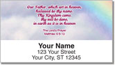 Lord's Prayer Address Labels