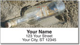 Ship in a Bottle Address Labels