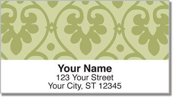 Ornate Heart Address Labels