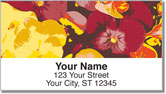 Pansy Address Labels