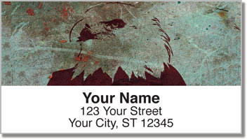 Rustic Eagle Address Labels