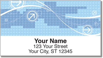 Arrow Pattern Address Labels