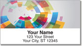 Color Wheel Address Labels