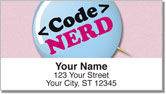 Nerd Pride Address Labels