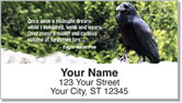 Scenic Poetry Address Labels