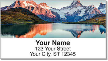 Mountain Peak Address Labels
