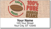 Fair Trade Coffee Address Labels