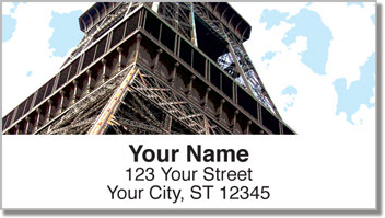 Paris Address Labels