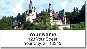 European Architecture Address Labels