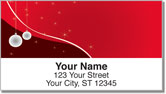 Xmas Ornament Address Labels