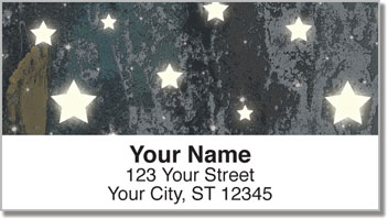 Star Struck Address Labels