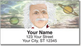 Albert Einstein Address Labels