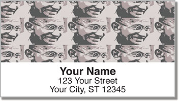 Gandhi Address Labels