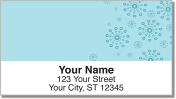 Circle Burst Address Labels