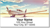 Small Plane Address Labels
