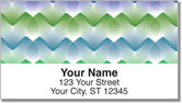 Rainbow Droplet Address Labels