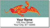 Ancient Dragon Address Labels