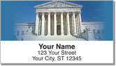 Supreme Court Address Labels