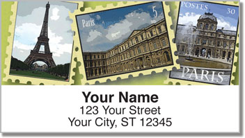 Dreaming of Paris Address Labels