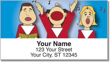 Kid Choir Address Labels