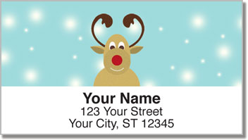 Rudolph Address Labels