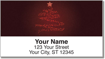 Glowing Tree Address Labels