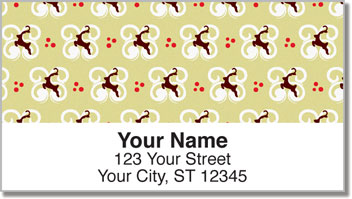 Reindeer Address Labels