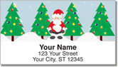 Santa Claus Address Labels