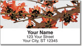 Rustic Flower Address Labels