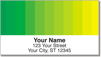 Color Change Address Labels