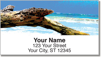 Driftwood Address Labels