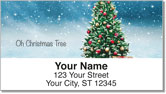 Christmas Carol Address Labels