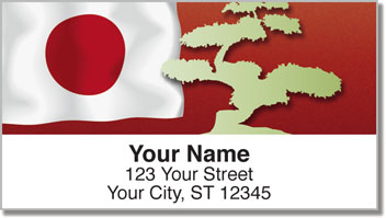 Bonsai Tree Address Labels