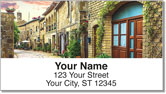 Italian Architecture Address Labels
