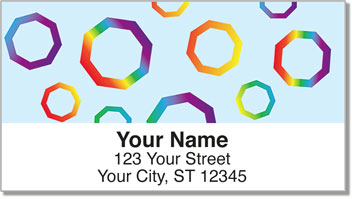Octagon Address Labels