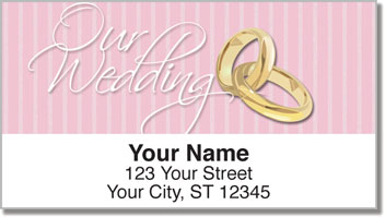 Wedding Day Address Labels