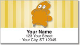 Scribble Cat Address Labels